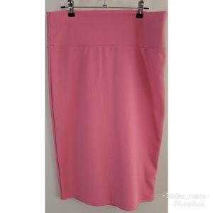 Lularoe Pink Cassie Large